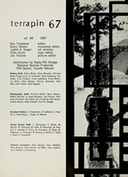 Page 10, 1967 Edition, University of Maryland College Park - Terrapin / Reveille Yearbook (College Park, MD) online yearbook collection