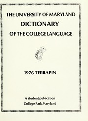 Page 5, 1976 Edition, University of Maryland College Park - Terrapin / Reveille Yearbook (College Park, MD) online yearbook collection