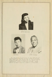 Page 13, 1949 Edition, Elizabeth City State University - Viking Yearbook (Elizabeth City, NC) online yearbook collection