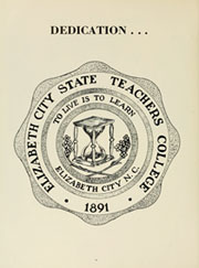 Page 10, 1961 Edition, Elizabeth City State University - Viking Yearbook (Elizabeth City, NC) online yearbook collection