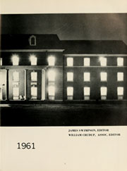 Page 7, 1961 Edition, Elizabeth City State University - Viking Yearbook (Elizabeth City, NC) online yearbook collection