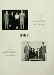 Page 13, 1950 Edition, American University - Talon Yearbook / Aucola Yearbook (Washington, DC) online yearbook collection