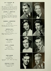 Page 15, 1950 Edition, American University - Talon Yearbook / Aucola Yearbook (Washington, DC) online yearbook collection