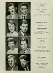 Page 16, 1950 Edition, American University - Talon Yearbook / Aucola Yearbook (Washington, DC) online yearbook collection