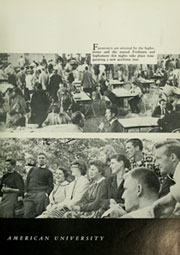 Page 9, 1957 Edition, American University - Talon Yearbook / Aucola Yearbook (Washington, DC) online yearbook collection