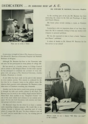 Page 14, 1958 Edition, American University - Talon / Aucola Yearbook (Washington, DC) online yearbook collection