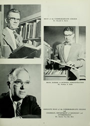 Page 21, 1958 Edition, American University - Talon / Aucola Yearbook (Washington, DC) online yearbook collection