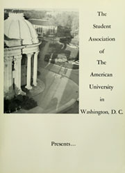 Page 9, 1963 Edition, American University - Talon Yearbook / Aucola Yearbook (Washington, DC) online yearbook collection