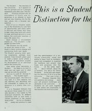 Page 10, 1969 Edition, American University - Talon Yearbook / Aucola Yearbook (Washington, DC) online yearbook collection