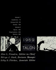 Page 9, 1969 Edition, American University - Talon Yearbook / Aucola Yearbook (Washington, DC) online yearbook collection