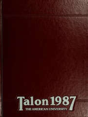 American University - Talon / Aucola Yearbook (Washington, DC) online yearbook collection, 1987 Edition, Page 1