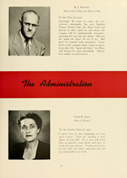 Page 15, 1950 Edition, Elon University - Phi Psi Cli Yearbook (Elon, NC) online yearbook collection