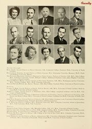 Page 16, 1950 Edition, Elon University - Phi Psi Cli Yearbook (Elon, NC) online yearbook collection