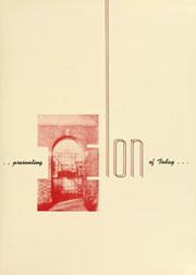 Page 5, 1950 Edition, Elon University - Phi Psi Cli Yearbook (Elon, NC) online yearbook collection