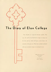 Page 6, 1955 Edition, Elon University - Phi Psi Cli Yearbook (Elon, NC) online yearbook collection