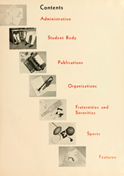Page 9, 1955 Edition, Elon University - Phi Psi Cli Yearbook (Elon, NC) online yearbook collection