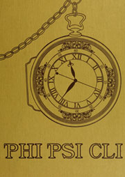 1974 Edition, Elon University - Phi Psi Cli Yearbook (Elon, NC)