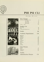Page 5, 1980 Edition, Elon University - Phi Psi Cli Yearbook (Elon, NC) online yearbook collection