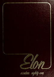 1981 Edition, Elon University - Phi Psi Cli Yearbook (Elon, NC)