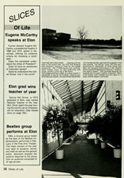 Page 42, 1988 Edition, Elon University - Phi Psi Cli Yearbook (Elon, NC) online yearbook collection