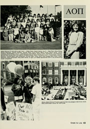 Page 47, 1988 Edition, Elon University - Phi Psi Cli Yearbook (Elon, NC) online yearbook collection