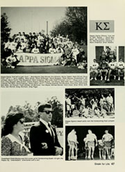 Page 51, 1988 Edition, Elon University - Phi Psi Cli Yearbook (Elon, NC) online yearbook collection