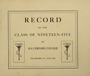 Page 7, 1905 Edition, Haverford College - Record Yearbook (Haverford, PA) online yearbook collection