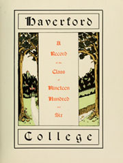 Page 9, 1906 Edition, Haverford College - Record Yearbook (Haverford, PA) online yearbook collection