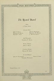 Page 13, 1928 Edition, Haverford College - Record Yearbook (Haverford, PA) online yearbook collection