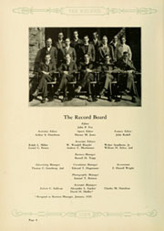 Page 12, 1929 Edition, Haverford College - Record Yearbook (Haverford, PA) online yearbook collection