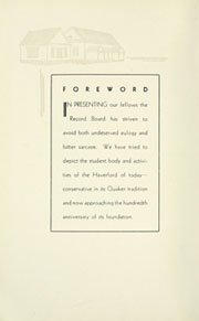Page 10, 1932 Edition, Haverford College - Record Yearbook (Haverford, PA) online yearbook collection