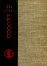 Page 1, 1936 Edition, Haverford College - Record Yearbook (Haverford, PA) online yearbook collection