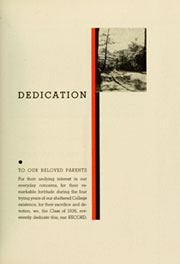 Page 11, 1936 Edition, Haverford College - Record Yearbook (Haverford, PA) online yearbook collection