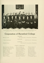 Page 17, 1936 Edition, Haverford College - Record Yearbook (Haverford, PA) online yearbook collection