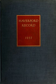 Page 1, 1937 Edition, Haverford College - Record Yearbook (Haverford, PA) online yearbook collection