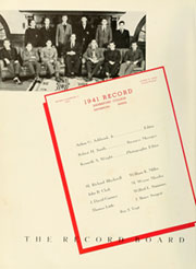 Page 12, 1941 Edition, Haverford College - Record Yearbook (Haverford, PA) online yearbook collection