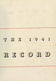 Page 5, 1941 Edition, Haverford College - Record Yearbook (Haverford, PA) online yearbook collection