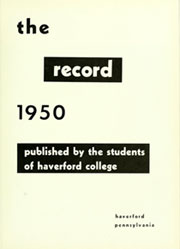 Page 7, 1950 Edition, Haverford College - Record Yearbook (Haverford, PA) online yearbook collection