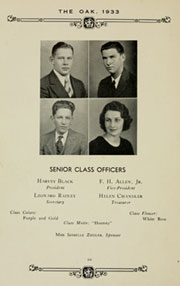 Page 14, 1933 Edition, Louisburg College - Oak Yearbook (Louisburg, NC) online yearbook collection