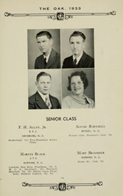 Page 15, 1933 Edition, Louisburg College - Oak Yearbook (Louisburg, NC) online yearbook collection
