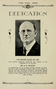Page 8, 1933 Edition, Louisburg College - Oak Yearbook (Louisburg, NC) online yearbook collection