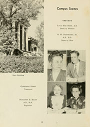 Page 14, 1947 Edition, Louisburg College - Oak Yearbook (Louisburg, NC) online yearbook collection
