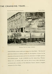 Page 9, 1947 Edition, Louisburg College - Oak Yearbook (Louisburg, NC) online yearbook collection