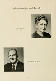 Page 14, 1948 Edition, Louisburg College - Oak Yearbook (Louisburg, NC) online yearbook collection