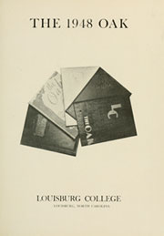 Page 5, 1948 Edition, Louisburg College - Oak Yearbook (Louisburg, NC) online yearbook collection