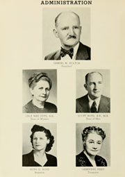 Page 10, 1950 Edition, Louisburg College - Oak Yearbook (Louisburg, NC) online yearbook collection