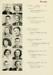 Page 11, 1950 Edition, Louisburg College - Oak Yearbook (Louisburg, NC) online yearbook collection