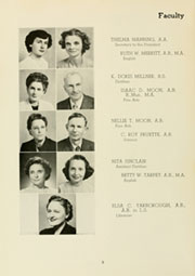 Page 12, 1950 Edition, Louisburg College - Oak Yearbook (Louisburg, NC) online yearbook collection