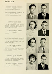 Page 14, 1950 Edition, Louisburg College - Oak Yearbook (Louisburg, NC) online yearbook collection