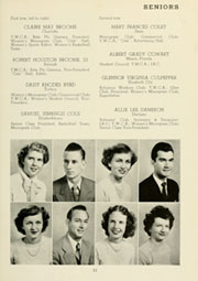 Page 15, 1950 Edition, Louisburg College - Oak Yearbook (Louisburg, NC) online yearbook collection